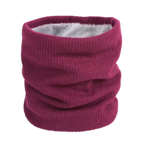 Maroon Neck Ring Scarf