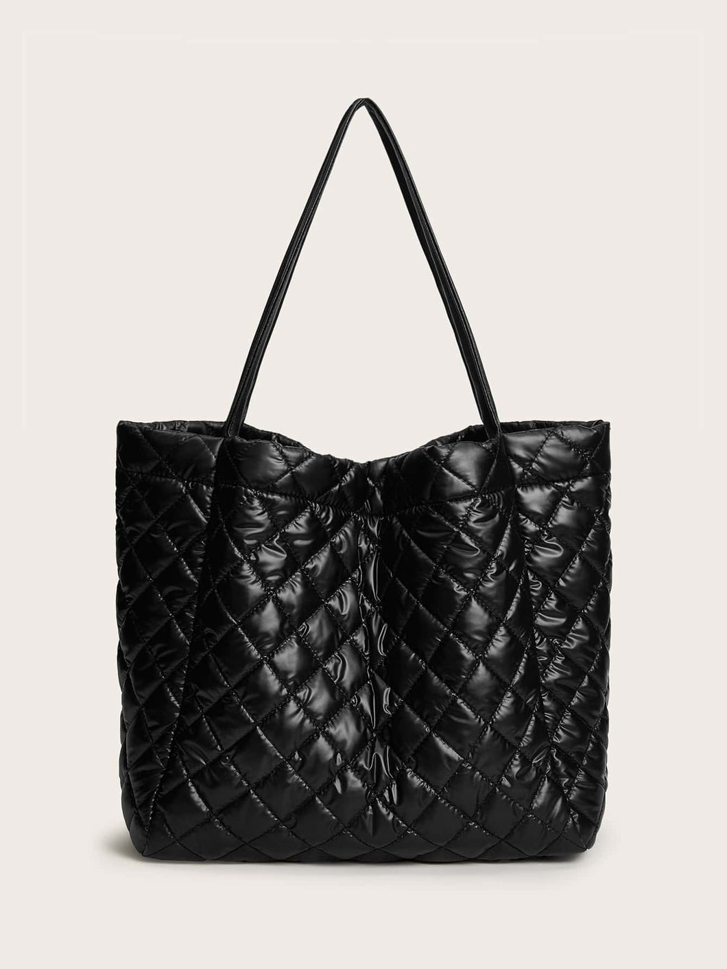 Quilted Large Capacity Tote Bag