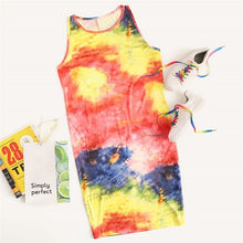Load image into Gallery viewer, Plus Tie Dye Tank Dress