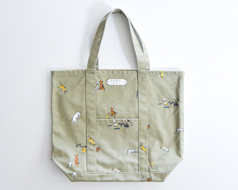 OLDMAN'S TAILOR / FARMERS FAMILY TOTE BAG (TALL)