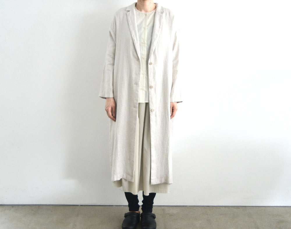 evam eva long tailored jacket