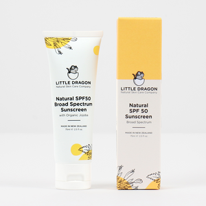Little Dragon Natural SPF50 Broad Spectrum Sunscreen