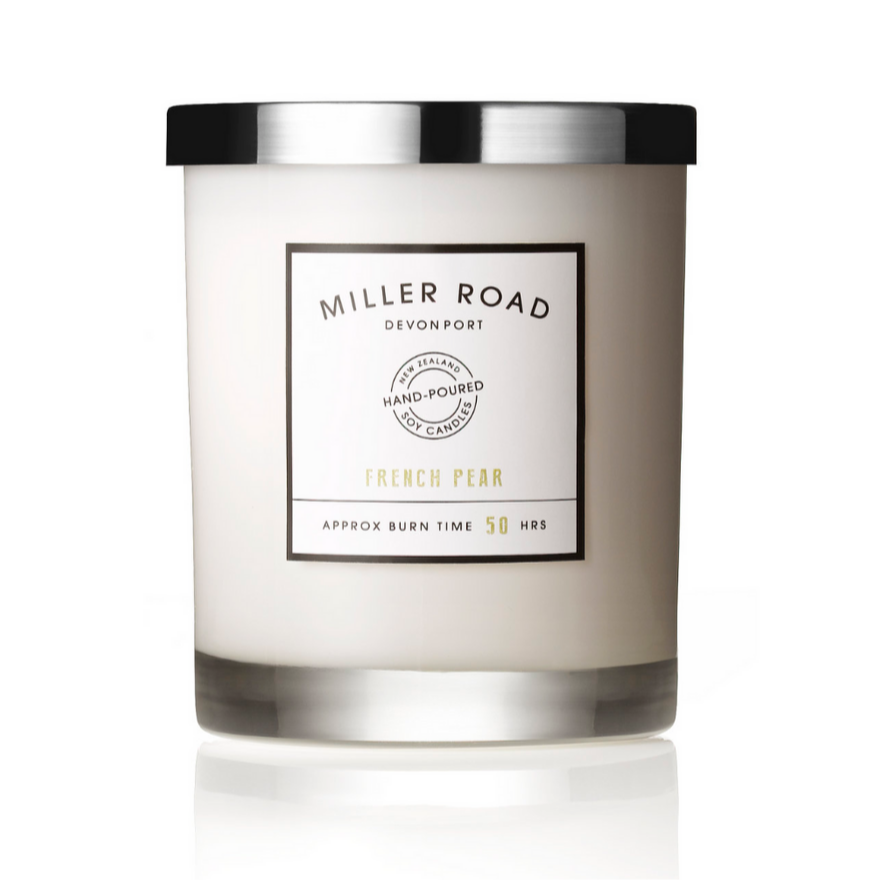 Miller Road Soy Candle - French Pear
