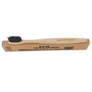 Bamboo Toothbrush - Charcoal Infused