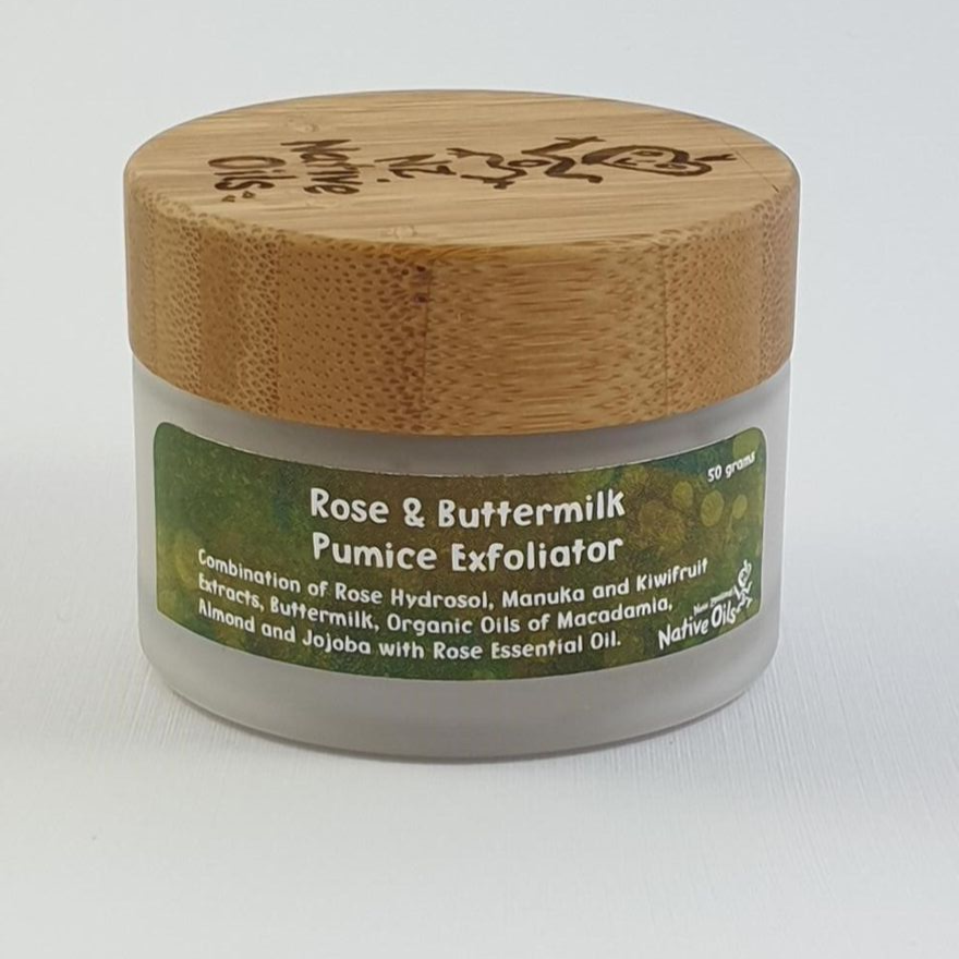 Rose and Buttermilk Pumice Exfoliator