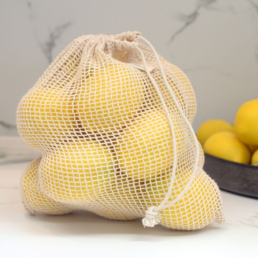 Eco Grocery Starter Pack - Organic Cotton Produce Bags