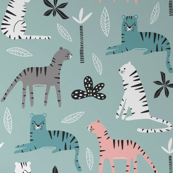 Kids Wallpaper -  Tigers