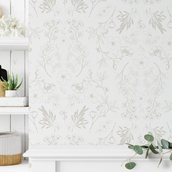 Floral Wallpaper - Vintage II