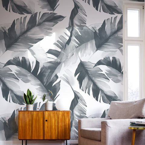 Modern Tropical Wallpaper