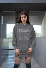 Load image into Gallery viewer, Chicago House Varsity Unisex Hoodie