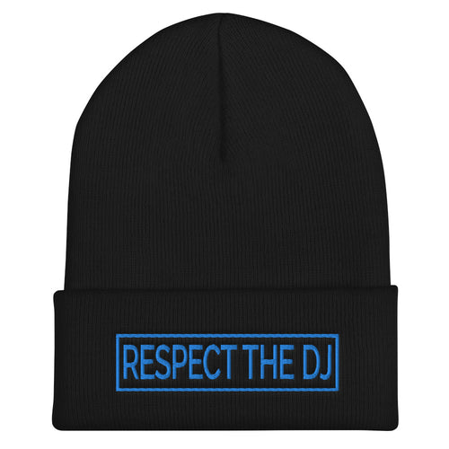 Respect The DJ Cuffed Beanie