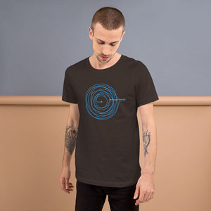 Soul & Thread Record and Needle Unisex T-Shirt (Short-Sleeve)