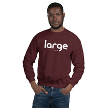 Load image into Gallery viewer, Large Music Unisex Sweatshirt