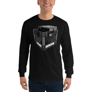 Old School Large Music Unisex Long Sleeve T-Shirt