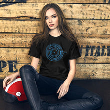 Load image into Gallery viewer, Soul & Thread Record and Needle Unisex T-Shirt (Short-Sleeve)