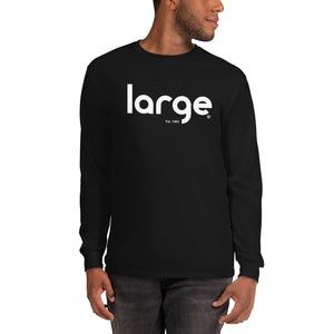 Large Music Long Sleeve T-Shirt (Unisex)