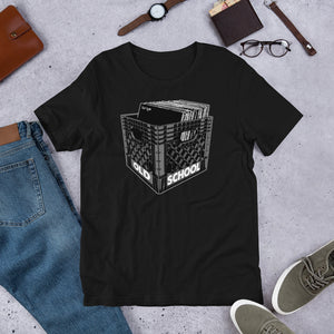 Old School Large Music Unisex T-Shirt (Short-Sleeve)
