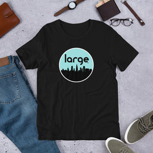 Large Music 2020 Skyline Short-Sleeve Unisex T-Shirt