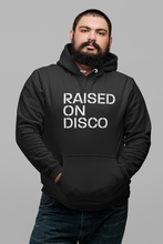 Load image into Gallery viewer, Raised On Disco Unisex Hoodie