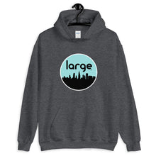 Load image into Gallery viewer, Large Music Skyline Unisex Hoodie
