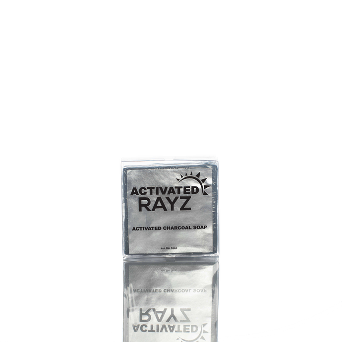 Activated Rayz- Charcoal Soap