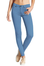 Casual Mid Waist Tight Pants