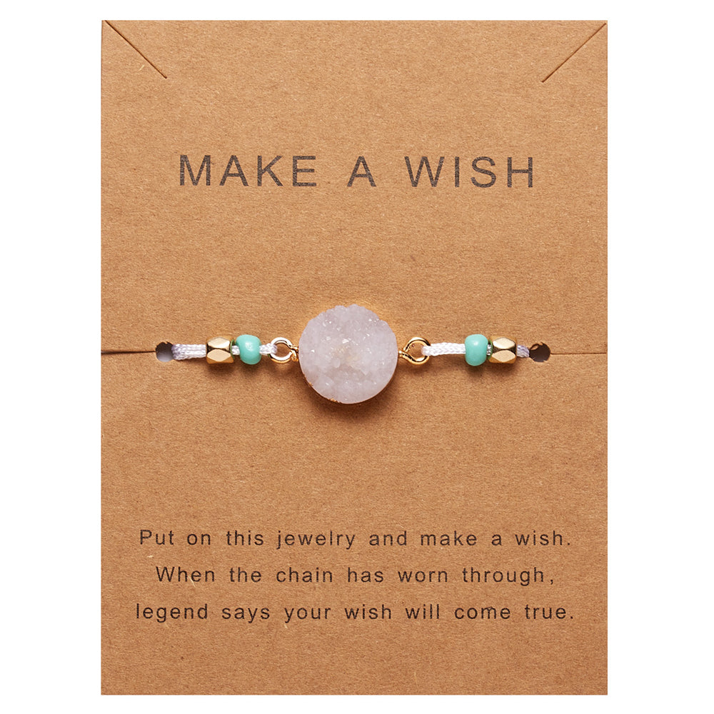 Make A Wish Crescent Moon Decoration Beaded Weave Holiday Weave Bracelet