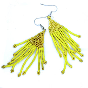 Colour kiss earrings - Triangle style (range of colours)