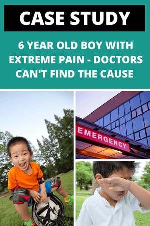 6 Year Old Boy with Extreme Pain - A Rare Find Eluded Emergency Doctors!