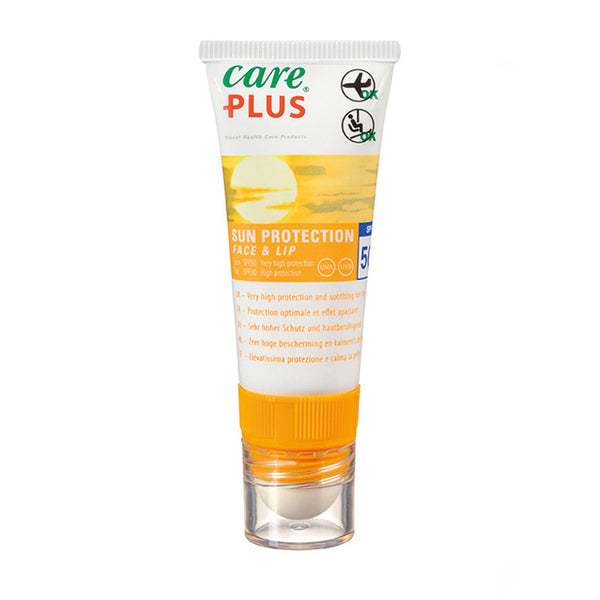 Care Plus Sun Cream And Lip Salve Stick SPF50 20ml