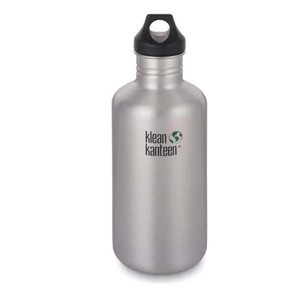 Klean Kanteen Classic Loop Cap Stainless Steel Water Bottles 1182ml