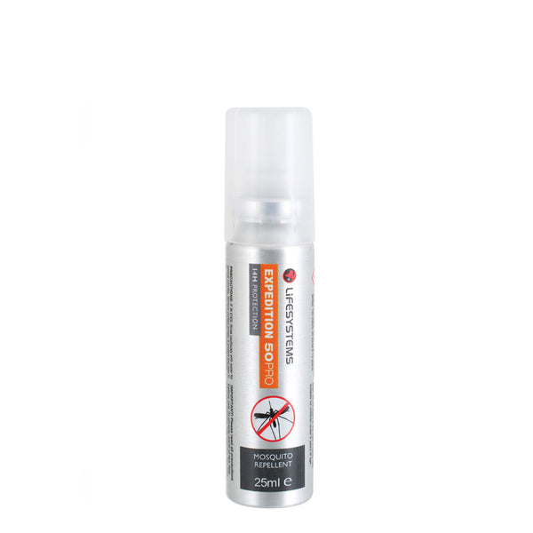 Lifesystems Expedition 50 Pro DEET Mosquito Repellent Spray 25ml