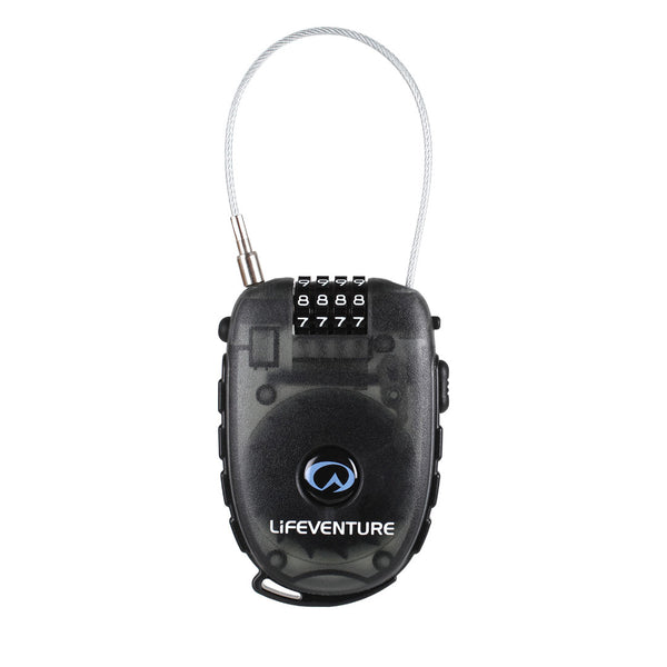 Lifeventure 4 Dial Combination Cable Lock