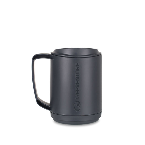 Lifeventure Ellipse Insulated Plastic Camping Mugs 350ml
