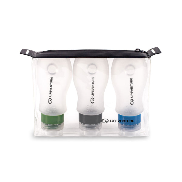 Lifeventure Silicon Travel Bottles