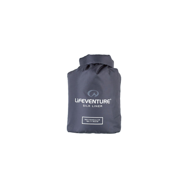 Lifeventure Silk Sleeping Bag Liner Rectangular