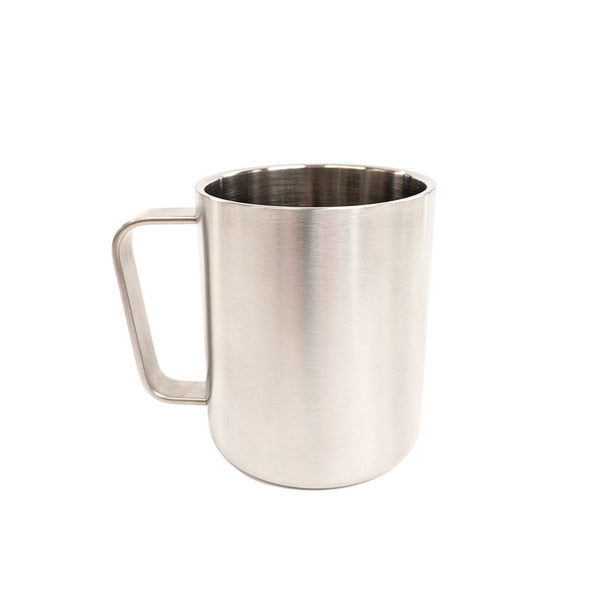 Lifeventure Stainless Steel Camping Mugs 300ml