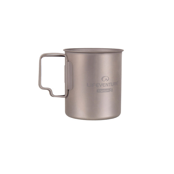 Lifeventure Titanium Camping Mugs 400ml