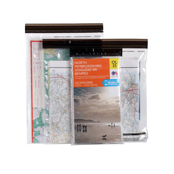Lifeventure Waterproof Map Pouches