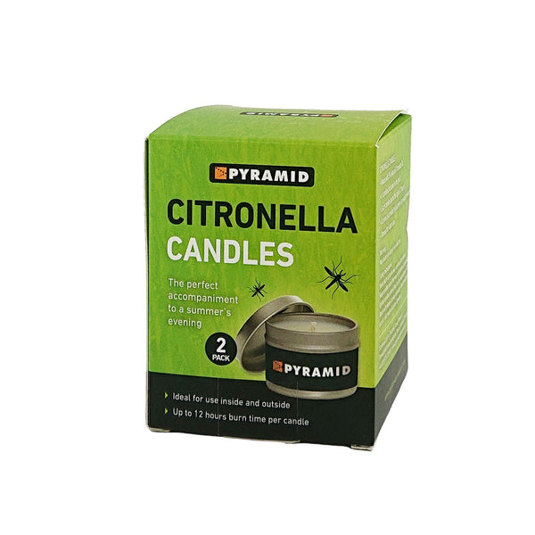Pyramid Insect Repellent Citronella Candles