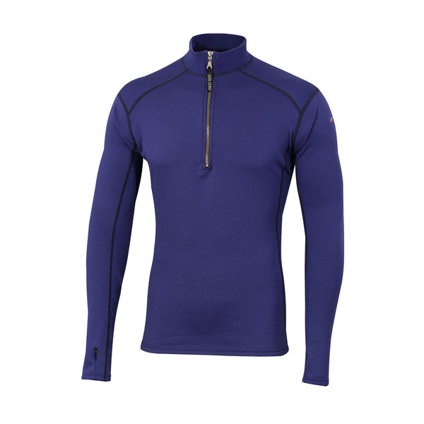 Factor 2 Mens Long Sleeve Zip Neck Mid Layer Top