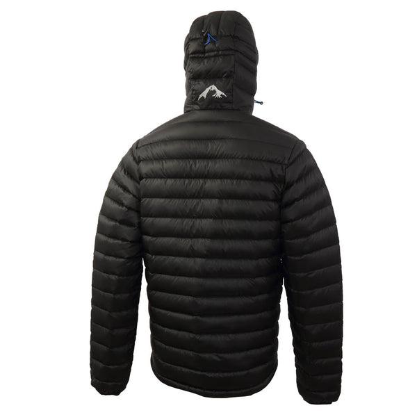 Mens Lightweight Hooded Down Jackets