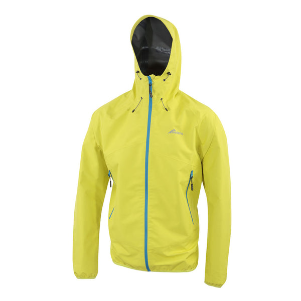 Mens Lightweight Waterproof Jacket Lime