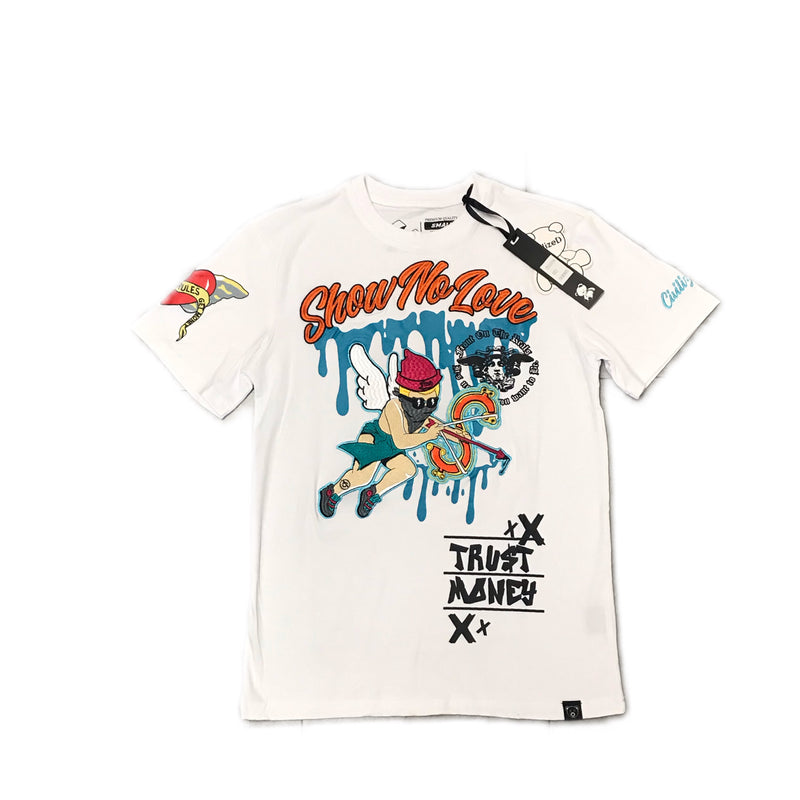 CIVILIZED SHOW NO LOVE TEE WHITE