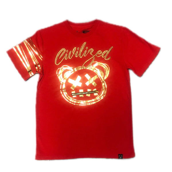 CIVILIZED T-SHIRT RED