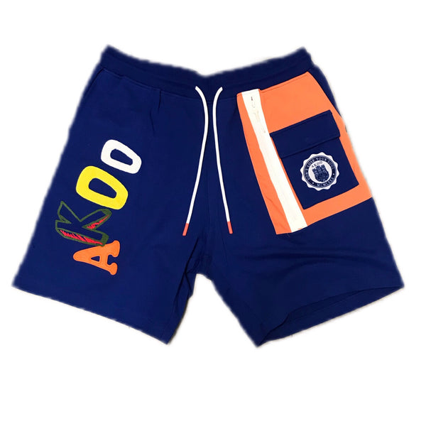 AKOO DARK ALE BREAK SHORTS BLUE