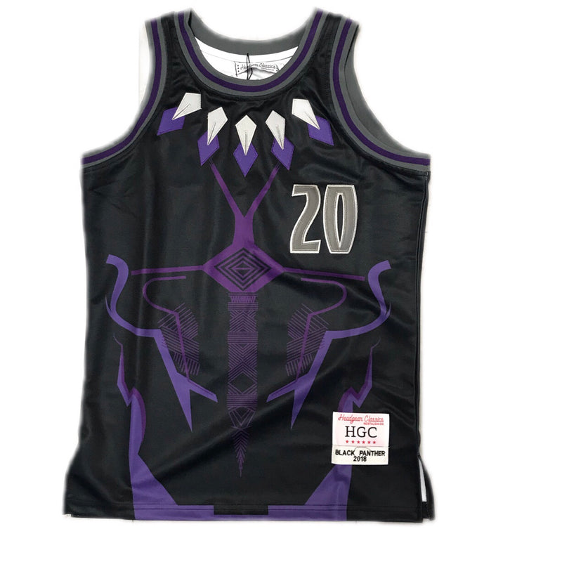 HEADGEAR BLACK PANTHER JERSEY