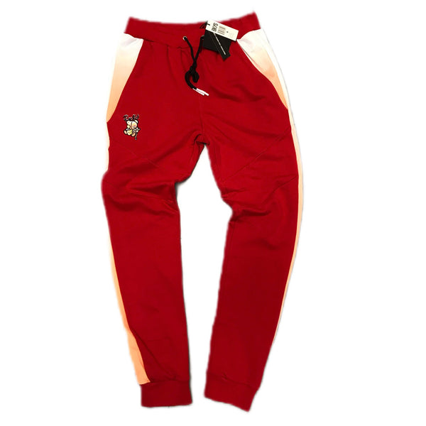 BLACK KEYS ROCK'D SWEATPANTS RED