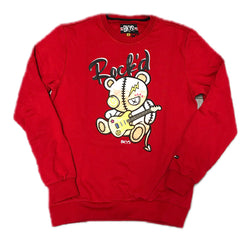 BLACK KEYS ROCK'D CREWNECK RED