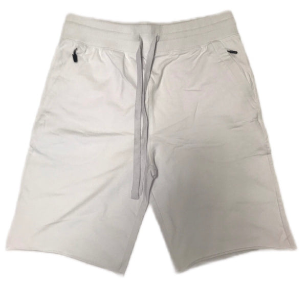 JORDAN CRAIG COTTON SHORTS WHITE